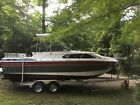 1988 Chaparral 278 XLC  signature series cabin cruiser boat with 2017 trailer
