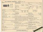 1971 PONTIAC VENTURA II V8 307 ci / 200 hp Car SUN ELECTRONIC SPEC SHEET