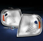 97-03 FORD F150/97-02 EXPEDITION BUMPER CORNER SIGNAL PARKING LIGHT CHROME/AMBER