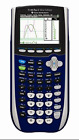 TEXAS INSTRUMENTS TI 84 GRAPHING CALCULATOR PLUS C SILVER EDITION IN BLUE COLOR