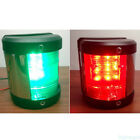 12V Starboard/Port LED Navigation Lights Red And Green Pair For Boat Yacht BB