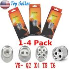 1-4 Pack BABY SMOK TFV8 Baby Cloud Beast Replacement Coils V8- Q2 X4 T8 T6 LOT