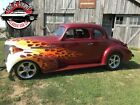 1939 Chevrolet coupe streetrod -- 1939 Chevrolet coupe streetrod  999999 Miles red Coupe 292 turbo 400