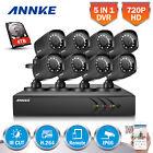 ANNKE 4TB Surveillance Camera DVR System 1080P Lite 720P Video Smart Search HDMI