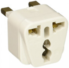 Ckitze BA7-2PK 2 In 1 USA to UK Adapter Plug - 2 Pack, Universal