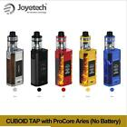 Authentic Joyetech 228W CUBOID TAP TC Mod Only or with 4ml ProCore Aries Kit