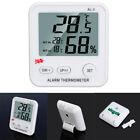 AL-3 LCD Digital Temperature Humidity Meter Clock Alarm Thermometer Hygrometer A