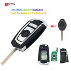 4Button Floding Remote Key CAS2 for BMW1 3 5 6 Series X5 With ID7944 315MHZ HU92