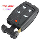 NewSmart Remote Car key Fob 5B 315MHz for 2008-2012 Land Rover LR2 FCC ID:NT8TX9