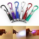 6PCS Interactive Pet Play Training Funny Cat Toy Red LED Light Laser Pointer Pen