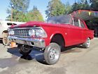 1962 Ford Fairlane 2 Door 1962 Fairlane 2 Door Gasser Straight Axle Race Car Old School Project No Reserve