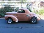 "1938 Willys Coupe  ""C C Rider"" Willys Record Setting 5-time National Champion Gasser"