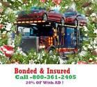 Washington Auto Transport & Towing 15% OF Bonded & Insured