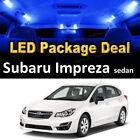 2004 - 2014 2015 2016 Subaru Impreza LED Lights Interior Package Kit BLUE 6PCS