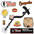 "Tesoro COMPADRE Metal Detector With 5.75"" Search Coil + LIFETIME WARRANTY !"