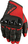 FLY RACING Coolpro Force Motorcycle Gloves (Red/Black) Choose Size