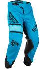 Fly Racing MX Motocross MTB BMX 2018 Kids KINETIC Era Pants (Blue/Black)