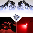 8x  Red LED Boat Light Waterproof 12v Walk Around SportFish Accent Lighting