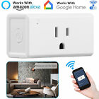 Wifi Smart Plug Works With Alexa, Mini Time Switch Wifi Socket Outlet Remote