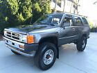 1987 Toyota 4Runner SR5 Amazing Condition 1987 Toyota 4Runner SR5 Turbo Automatic with only 163K Miles