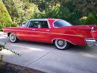 1960 Chrysler Imperial  1960 CHRYSLER IMPERIAL  ( RED HOT ) ( l