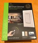GE 12724 Z-Wave In-Wall Smart Dimmer, White and Light Almond Paddles, NEW!