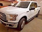 2015 Ford F-150  2015 Ford F-150 White 4 Door Tonneau Cover Clean Excellent Condition Pre-Owned