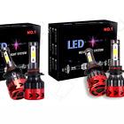 4X 9005 9006 CREE LED Headlight Conversion Kit total 2100W 315000LM Hi/Low 6000k