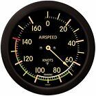 "Trintec Massive 14"" Vintage Aviation Airspeed Indicator Round Thermometer 9061VF"