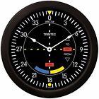 "Trintec Massive 14"" Aviation VOR Glidescope Wall Clock 9064-14 Aviatrix"
