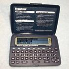 Franklin Merriam-Webster Electronic Pocket Dictionary Model MWD-400 Manual Euc