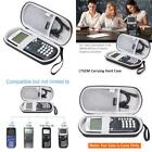 Black Travel Hard Case Storage For Texas Instruments &Amp; Graphing Calculator N