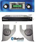 1967-72 Chevy Truck Radio, Bluetooth + CD + Pioneer Kick Panels Stereo  630BTCD