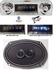 1959-60 Bluetooth Stereo Radio + Speaker Impala Bel Air Multi Color Display 740