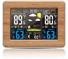 Remote Monitoring Color Weather Statio Temperature Humidity Time & Date For Home
