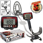 FISHER F44 METAL DETECTOR WEATHER PROOF W/ MANUAL GROUND BALANCE FREE S/H