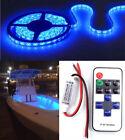 Blue LED Boat Light Deck Waterproof 12v Bow Trailer Pontoon Light Kit Marine new