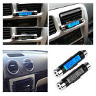 LED Digital Car Clock Thermometer Temperature LCD Backlight Without Battery US