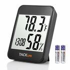 Hygrometer Thermometer, Tacklife 2-in-1 Digital Temperature Humidity Gauge with