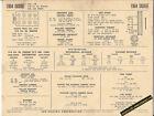 1964 DODGE V8 VD2 318 ci 330-440 SERIES Engine Car SUN ELECTRONIC SPEC SHEET