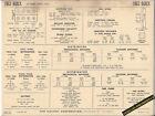1963 BUICK LE SABRE SERIES 4400 401 ci V8 Engine Car SUN ELECTRONIC SPEC SHEET
