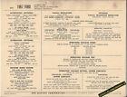 1967 FORD LEECE NEVILLE ALTERNATORS OPTIONAL EQUIP Car SUN ELECTRONIC SPEC SHEET