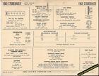1965 STUDEBAKER 6 Cylinder 194 ci Engine Car SUN ELECTRONIC SPEC SHEET
