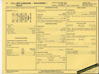 1974 JEEP CHEROKEE/WAGONEER/TRUCK 360 ci V8 Engine Car SUN ELECTRIC SPEC SHEET