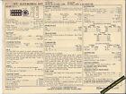 1971 OLDSMOBILE 442 4-4-2 V8 455 ci / 340-350 hp Car SUN ELECTRIC SPEC SHEET