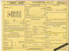 1974 BUICK CENTURY/LE SABRE/ELECTRA/RIVIERA 455ci V8 Car SUN ELECTRIC SPEC SHEET