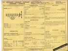 1974 DODGE PLYMOUTH DART/VALIANT/CORONET/CHARGER+ 225 ci SUN ELECTRIC SPEC SHEET