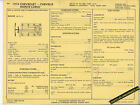 1974 CHEVROLET CHEVELLE/MONTE CARLO 400 ci V8 4 BBL Car SUN ELECTRIC SPEC SHEET
