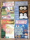 4 Western Eastern Lost Treasure Magazine Lot 2004-15 Metal Detecting Gold Beach