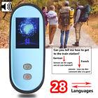 2.4'' SIM WiFi 3G/4G Android Digital Instant Smart Voice Translator 28 Languages